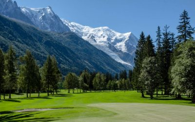 Golf de Chamonix fairway trou n° 16